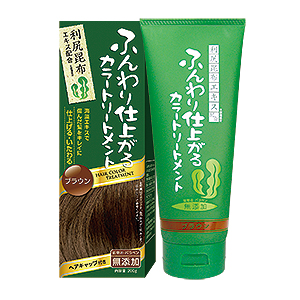 Rishiri Kelp Hair Color Treatment (Brown Color)
