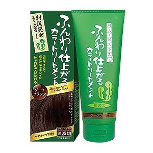 Rishiri Kelp Hair Color Treatment (Dark Brown Color)