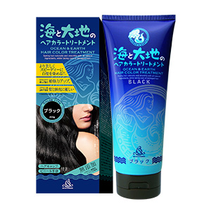 OCEAN AND EARTH HAIR COLOR (Black Color)