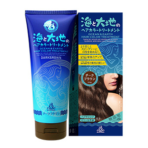 OCEAN AND EARTH HAIR COLOR (Dark Brown Color)